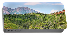 Purple Mountain Majesty Portable Battery Charger by Kristin Elmquist