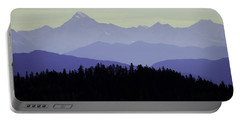 Purple Mountains Majesty Portable Battery Charger