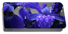 Purple Passion Portable Battery Charger by Rowana Ray