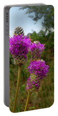 Purple Prairie Clover Portable Battery Charger
