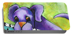 Purple Pup Portable Battery Charger