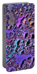 Portable Battery Charger featuring the photograph Purple Rain by Paul Wear