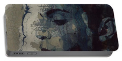 Purple Rain - Prince Portable Battery Charger by Paul Lovering