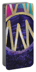 Purple Reign  Portable Battery Charger
