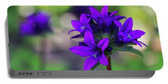 Portable Battery Charger featuring the photograph Purple Spring Flower by Cristina Stefan