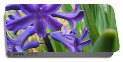 Portable Battery Charger featuring the photograph Purple Spring by Robert Knight