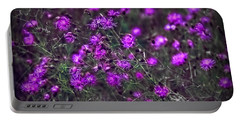 Purple Stars Portable Battery Charger