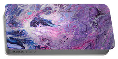 Purple Storm Portable Battery Charger