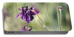 Purple Summer Portable Battery Charger