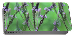 Purple Vervain Dreams Portable Battery Charger