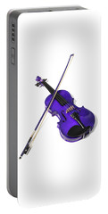 Purple Violin Portable Battery Charger