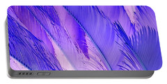 Purple Hues Portable Battery Charger