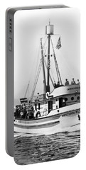 Purse Seiner Western Flyer On Her Sea Trials Washington 1937 Portable Battery Charger