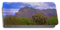 Portable Battery Charger featuring the photograph Pusch Ridge Morning H10 by Mark Myhaver