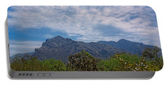 Portable Battery Charger featuring the photograph Pusch Ridge Morning H26 by Mark Myhaver