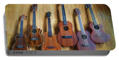 Put A Little Uke In Your Life Portable Battery Charger by John Rivera