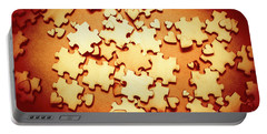 Puzzle Of Love Portable Battery Charger