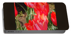 Pwraying Tulips Portable Battery Charger