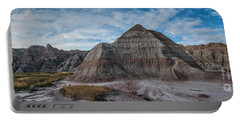 Pyramid In The Badlands Panorama Portable Battery Charger