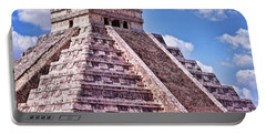 Pyramid Of Kukulcan At Chichen Itza Portable Battery Charger