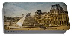 Paris, France - Pyramide Portable Battery Charger
