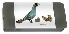 Quail Family Portable Battery Charger