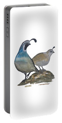 Quail Parents Wondering Portable Battery Charger