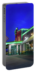 Portable Battery Charger featuring the photograph Quaker Steak And Lube by Christopher McKenzie