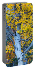 Quaking Aspen Portable Battery Charger