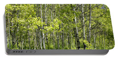 Quaking Aspens 2 Portable Battery Charger by Cynthia Powell