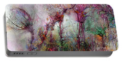Portable Battery Charger featuring the digital art Qualias Meadow by Russell Kightley
