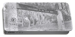Quantico Welcome Graphite Portable Battery Charger