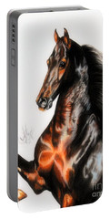 Quantum Of Solace Saddlebred Stallion Portable Battery Charger by Cheryl Poland