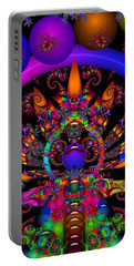 Portable Battery Charger featuring the digital art Quantum Physics by Robert Orinski