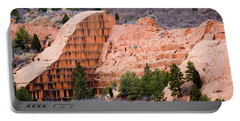 Quarry Closup At Red Rock Canyon Colorado Springs Portable Battery Charger