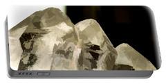 Quartz Crystal Cluster Portable Battery Charger