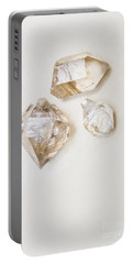 Portable Battery Charger featuring the photograph Quartz Crystals by Jorgo Photography - Wall Art Gallery