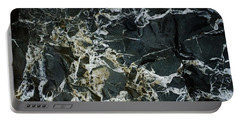 Quartz Veins Abstract 1 Portable Battery Charger by Richard Brookes