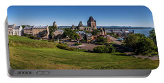 Quebec City Panorama Portable Battery Charger