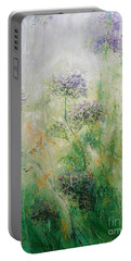 Queen Ann's Lace Portable Battery Charger