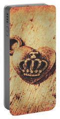 Queen Of Hearts Charm Portable Battery Charger
