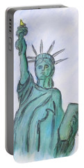 Queen Of Liberty Portable Battery Charger