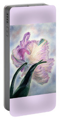 Queen Of Spring Portable Battery Charger by Angela Davies