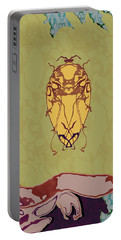 Queen Scarab Portable Battery Charger