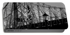 Queensboro Bridge  Portable Battery Charger by John Harding