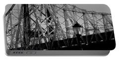 Queensboro Bridge  Portable Battery Charger by John Harding
