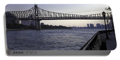Queensboro Bridge - Manhattan Portable Battery Charger