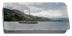 Queenstown New Zealand. Lake Wakatipu. Portable Battery Charger