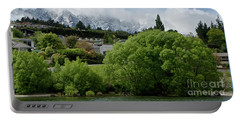 Queenstown New Zealand. Remarkable Ranges And Waters Of Lake Wakatipu Portable Battery Charger