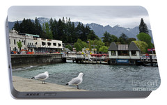 Portable Battery Charger featuring the photograph Queenstown, New Zealand by Yurix Sardinelly